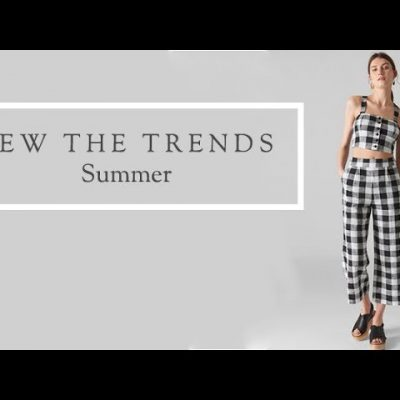 Sew the Trends Summer || Fashion sewing || The Fold Line