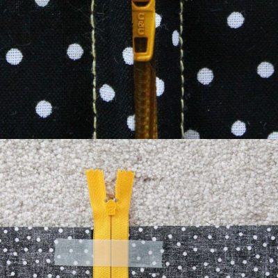 Learning how to sew on a zipper may sound difficult, but with this step-by-step tutorial, you'll learn to easily apply zippers to any