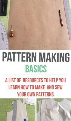 Fabulous blog with everything you need to know about sewing – including making your own patterns!