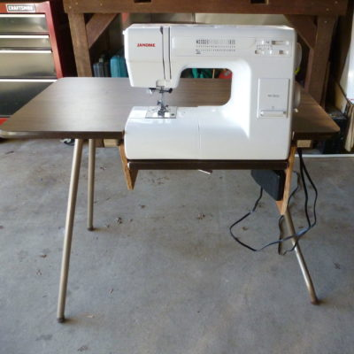 Folding Sewing Machine Table