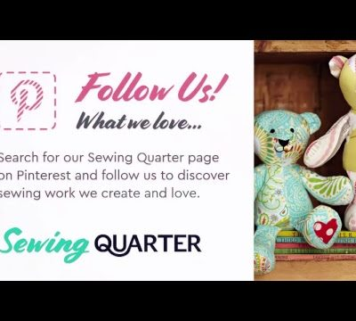 Sewing Quarter- Monday 30th July