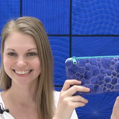 How to Sew a Quilted Zippered Pouch – Sewing Tutorial with Leah Day