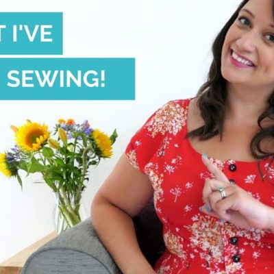 What I've been sewing! My recent makes…