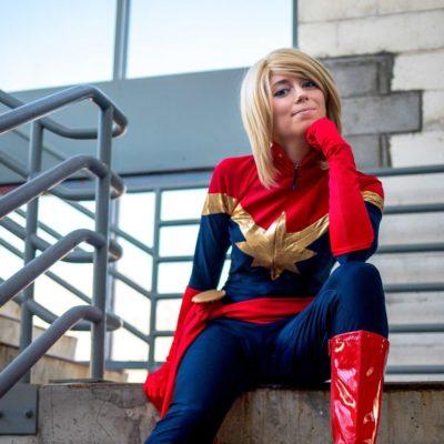 Captain Marvel Cosplay Tutorial