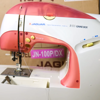 The Game Boy Sewing Machine Is Still Very Cool