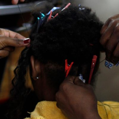 Check the label: China now dominates the low-cost hair extension business