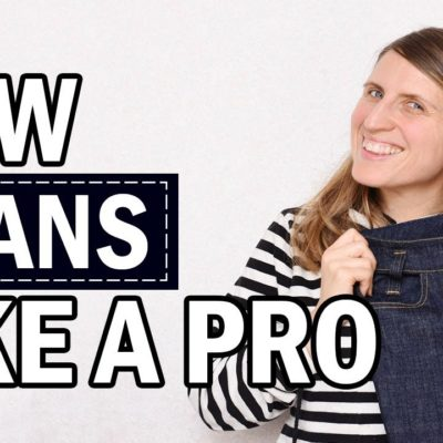 Game changing techniques for sewing jeans