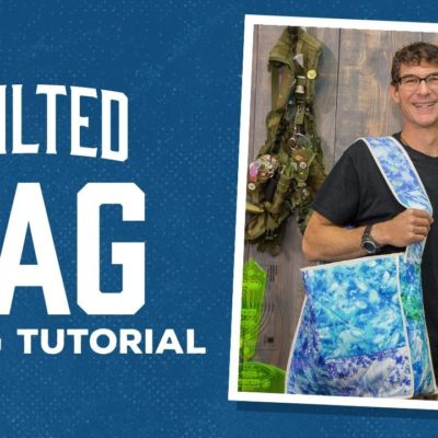 Make a Quilted Bag with Rob!