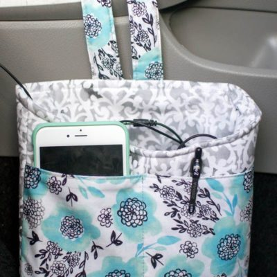 Car Diddy Bag – Free Sewing Tutorial — SewCanShe | Free Daily Sewing Tutorials