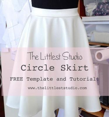 Circle Skirt Waist Template