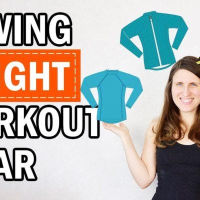 Sewing a new workout wardrobe!
