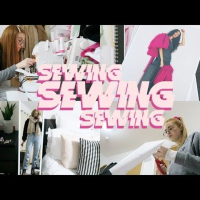 SO MUCH SEWING & FEELING THE STRESS!! | 2 WEEKLY VLOGS | MsRosieBea