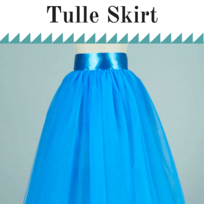 How to perfectly cut the hem of a Tulle skirt #tulle #tulleskirt