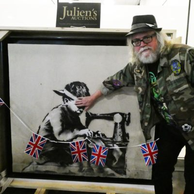 Bought to be Destroyed: Artist Ron English Will Whitewash His New Banksy