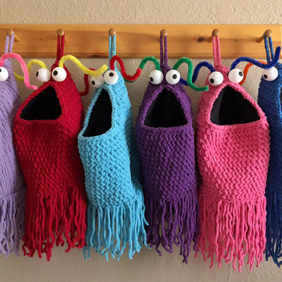 All I want (to make) for Christmas: Yip Yips stockings