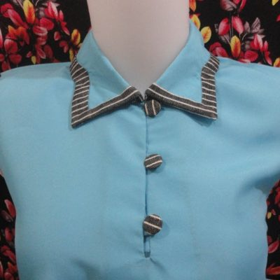 how to sewing a simple blouse model (38)