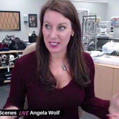 106 Angela Wolf: Launch B-day Sewing Marathon, Patternhacking, Sewing Knits