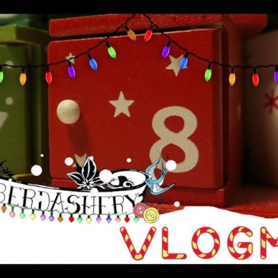 Vlogmas Day Eight 2018 | 'Finally Some Sewing & The New Craft House Party!'