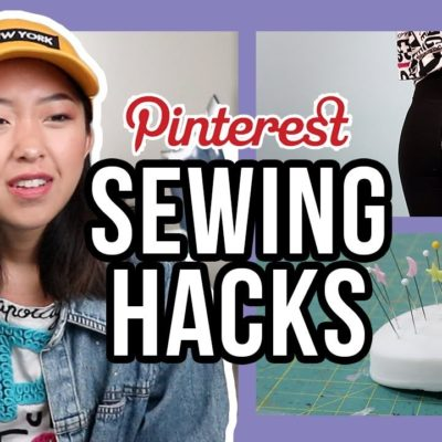 10 Sewing Hacks from Pinterest!