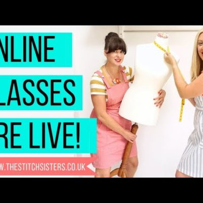 Online Sewing Classes are LIVE !!!!