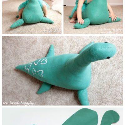 DIY Giant Monster Toy Free Sew Pattern & Tutorial