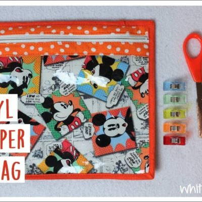 Vinyl Zipper Bag | Sewing How to | Whitney Sews