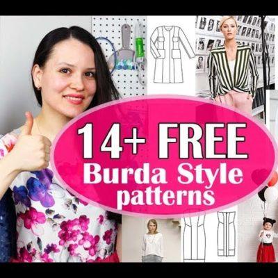 14+ FREE Burda Style Sewing patterns 2019