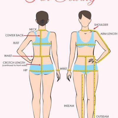 It is important to know how to take body measurements correctly so you can choose the pattern size that will give you the best fit.