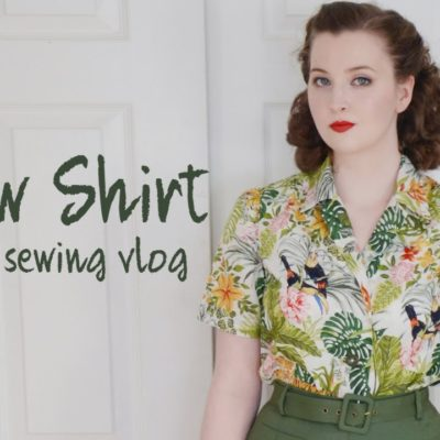 1940's Style Shirts – Weekend Sewing Vlog