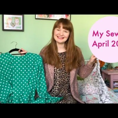 My Sewing: April 2019
