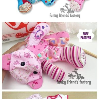 DIY Recycled Kids Clothes Memory Bear Free Sew Patterns