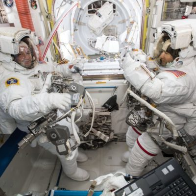 LIVE: Watch the first all-woman spacewalk
