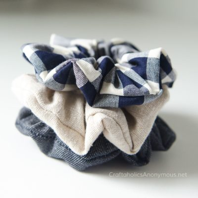 Craftaholics Anonymous® | How to Sew Scrunchies Tutorial