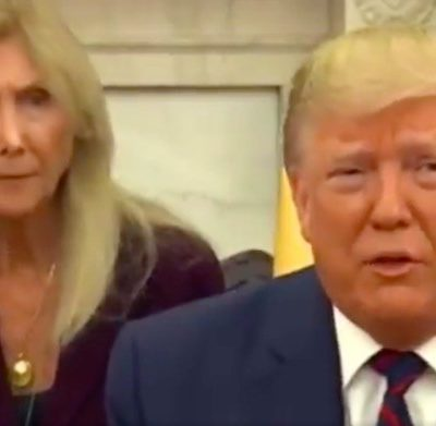 Watch this Italian translator's hilarious expressions as she tries to make Trump sound normal