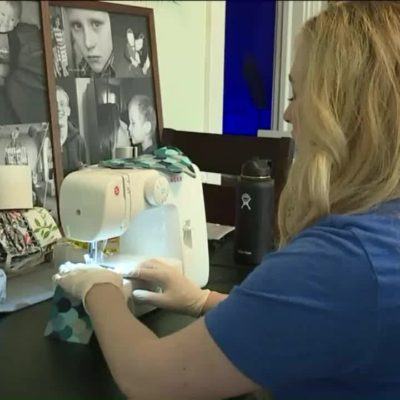 Missouri Mom Making Reusable Toilet Paper to Survive Shortage and Help a Special Cause
