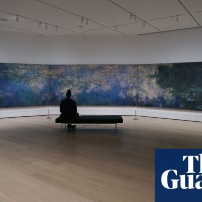 'You can sit with the art': MoMA reopens with social distancing precautions