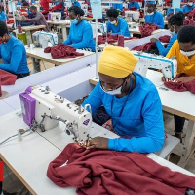 Rwanda's clothing spat with the US helps China
