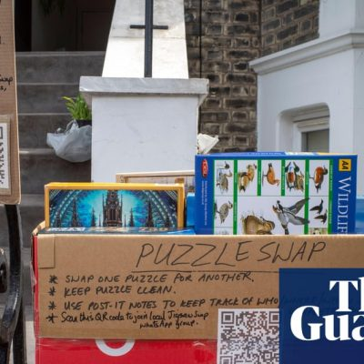 Lockdown spirit lives on as neighbour groups become swap shops