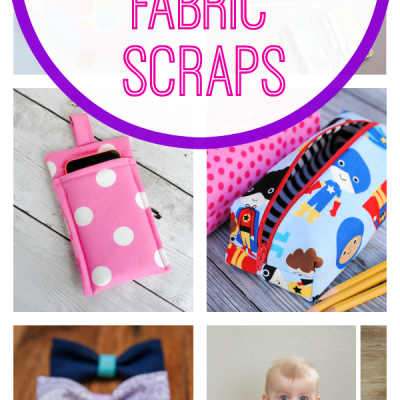 Tweet Pin It If you're like me you probably have a lot of little fabric scraps of various sizes left over from previous sewing projects.