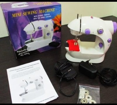 Tutorial : How To Operate The Mini Sewing Machine ♥