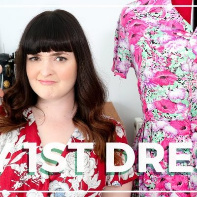 MY FIRST DRESS & Why I Almost Gave Up Sewing