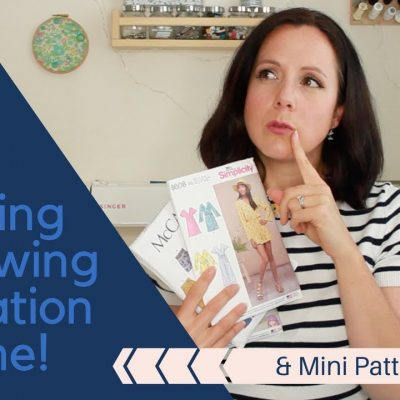 Come Shopping For Sewing Inspiration With Me