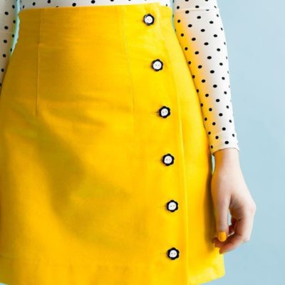 Arielle skirt easy sewing pattern for beginners