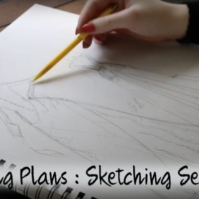 October Sewing Plans : Sketching Session #1