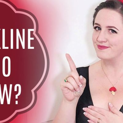 Covering a Plunging Neckline! (Quick Sewing DIY!)