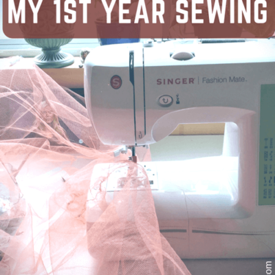 Here are some of the most important lessons I picked up in my first year of sewing. This isn't an exhaustive list, but these are some of