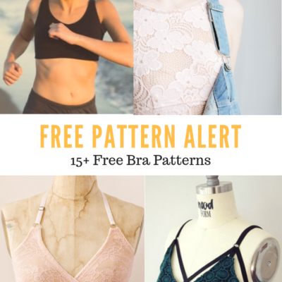 Hello there, Thank you for visiting On the Cutting Floor today. I am happy to present this compilation of Free Bra Sewing Patterns . Enjoy!