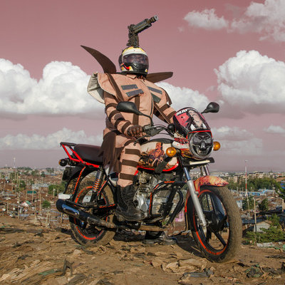 East Africa's Two-Wheeled Taxis Get a Visual Makeover