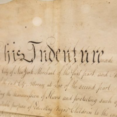 Land Deed for Pioneering School Sheds Light on an Early American Anti-Slavery Effort