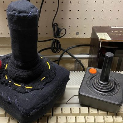 Driven Mad By Lockdown, Jalopnik Editor Sews A Working Plush Atari 2600 Joystick
